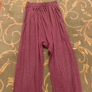 Maroon colored spiritual gangster sweats